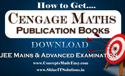 How to Get Mathematics Cengage Publication Books Specially for JEE Mains and Advanced Examination