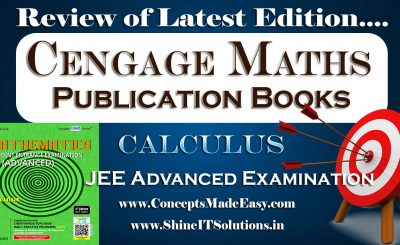 Review of Calculus Mathematics Cengage Publication Books Specially for JEE Advanced Examination